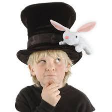 Bunny Halloween Costumes Kids Magicians Hat Rabbit Secret Pocket Kids