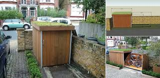 Plans For Building A Wood Storage Shed by How To Build A Bike Storage Shed Home Design Garden