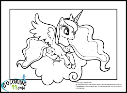 My Little Pony Colouring Pages My Little Pony Princess Luna Coloring Pages Activities For Kids