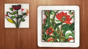 quilling designs wall decorating ideas diy paper crafts youtube