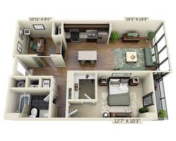 One Room Apartment Floor Plans Floor Apartment Plans And Pricing For Capitol View On 14th