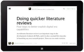 Reasons for doing literature review   The Literature Review