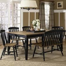liberty furniture al fresco ii six piece dining table set with