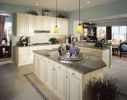 Off White Kitchen Cabinets With Black Countertops Off White Kitchen With White Countertops Warm Home Design