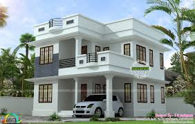 neat and simple small house plan kerala home design and floor
