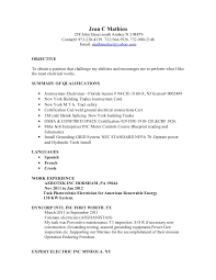 Journeyman Electrician Resume Sample by Resume Nov 2012 Updated