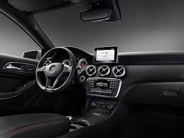 the new mercedes benz a class interior design extraordinary