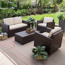 Best Wicker Patio Furniture Furniture 7 Piece Yellow Conversation Sets Patio Furniture
