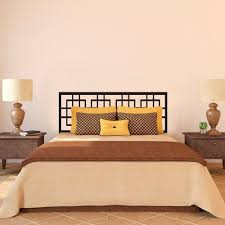 online get cheap wall decals ideas aliexpress com alibaba group modern headboard wall decal master couple bedroom vinyl art removable decor idea 23inx60in china