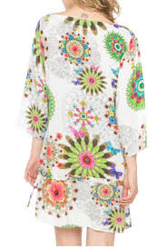 Desigual Home Decor by Desigual Berenice Cover Up Tunic From Hawaii By Hurricane Limited