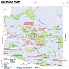 Route 66 Arizona Map by Map Of Arizona World Map Photos And Images