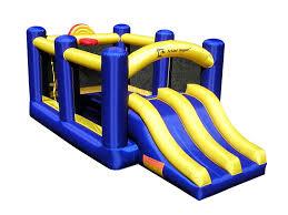 halloween bounce house amazon com island hopper racing slide and slam recreational