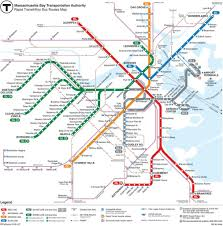 Sf Metro Map by How To Use The Boston Subway Map And Tips Free Tours By Foot
