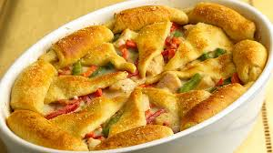 Chicken ala king pizza By Chef Shireen Anwar