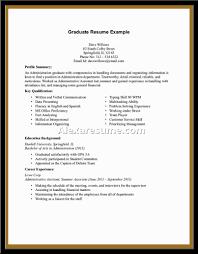 Work Experience Resume Example  example of student with no     Naukri FastForward