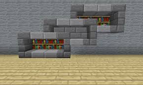 Container Store Bookshelves Minecraft Furniture Storage
