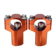 28mm handlebar mounts clamp riser 52mm height for dirt bike ktm