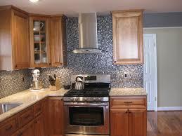 kitchen shiny kitchen backsplash exploit the glass tiles