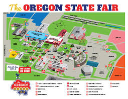 Oregon Map by Fairgrounds Map Oregon State Fair