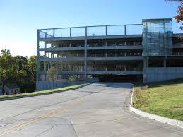 design and structure transit parking university arkansas garland avenue parking garage