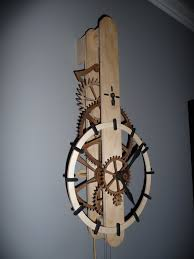 Free Wooden Clock Plans Dxf by Wood Gear Clock Plans Wooden Plans Tedswoodworking Furzemusclerupt