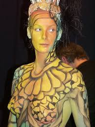 Various Kinds of Body Painting Art