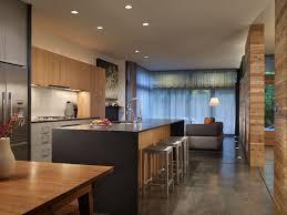 modern kitchen with kitchen island by mohler ghillino architects