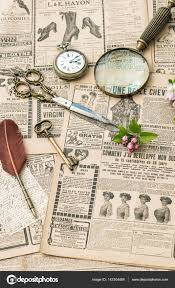 old style writing paper vintage accessories writing tools old fashion magazine flat lay vintage accessories writing tools old fashion magazine retro style flat lay photo by liligraphie