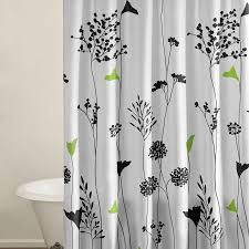 Bed Bath And Beyond Shower Curtain Liner Gray And Green Shower Curtain Cynthia Rowley Fabric Shower