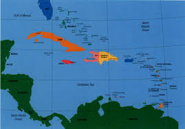 Latin America Map Labeled by A World Safe From Natural Disasters References