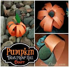 Halloween Crafts For Kids Easy Pumpkin Toilet Paper Roll Craft For Kids Halloween Idea Crafty