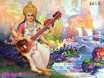 Wallpapers Backgrounds - posts related Vidhya Devi Saraswati Mata Wallpaper