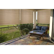 lewis hyman malibu cream outdoor indoor roll up shade by lewis