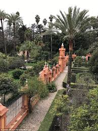 Stunning Seville glows with most luxury hotel in Europe   Daily     Daily Mail The gardens of the Alc  zar look tremendous from virtually every single angle