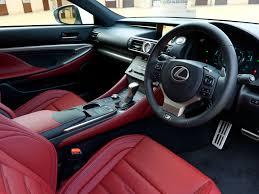 lexus hs interior interior lexus rc 200t f sport uk spec u00272015 u2013pr