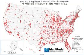 Population Density Map United States by Featured Maptitude Maps