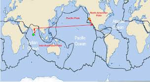 Tectonic Plate Map About Tinted Glass