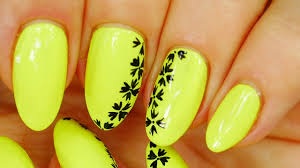 nail art neon simple design and beautiful youtube