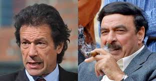 Sh Rasheed, Imran Khan 13th August Jalsa - **Imran Khan \u0026amp; Sheikh Rasheed\u0026#39;s speech ... - imran-khan-sh-rasheed-670