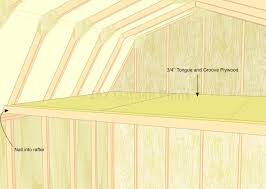 Diy 10x12 Shed Plans Free by Gambrel Shed Plans With Loft Loft