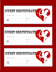 free printable valentines day love coupons gift certificate party