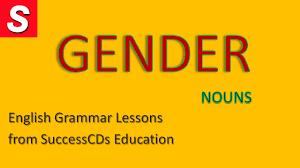 english grammar lesson gender youtube