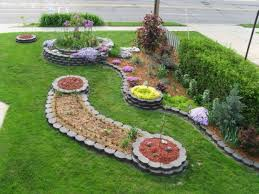 Front Garden Design Ideas Low Maintenance Front House Garden Ideas Zandalusnet Gardening For Of Flower Bed