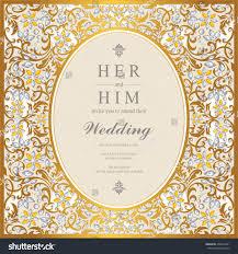 Card Invitation Wedding Card Invitation Card Card Abstract Stock Vector 436457461