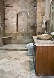 this driftwood travertine was installed in 2008 and still looks