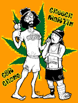 cheech and chong cartoons