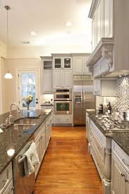White Kitchen Cabinets With Black Granite Countertops by Best 25 Grey Granite Countertops Ideas On Pinterest Kitchen