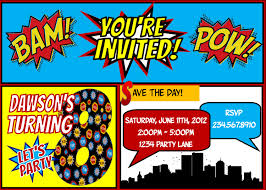 Halloween Party Poems Superhero Party Invitations U2013 Gangcraft Net