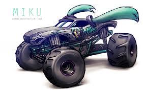 monster jam trucks 2014 monster jam miku by adry53 on deviantart
