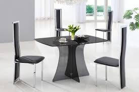 glass kitchen tables for small spaces dining room pretty glass top